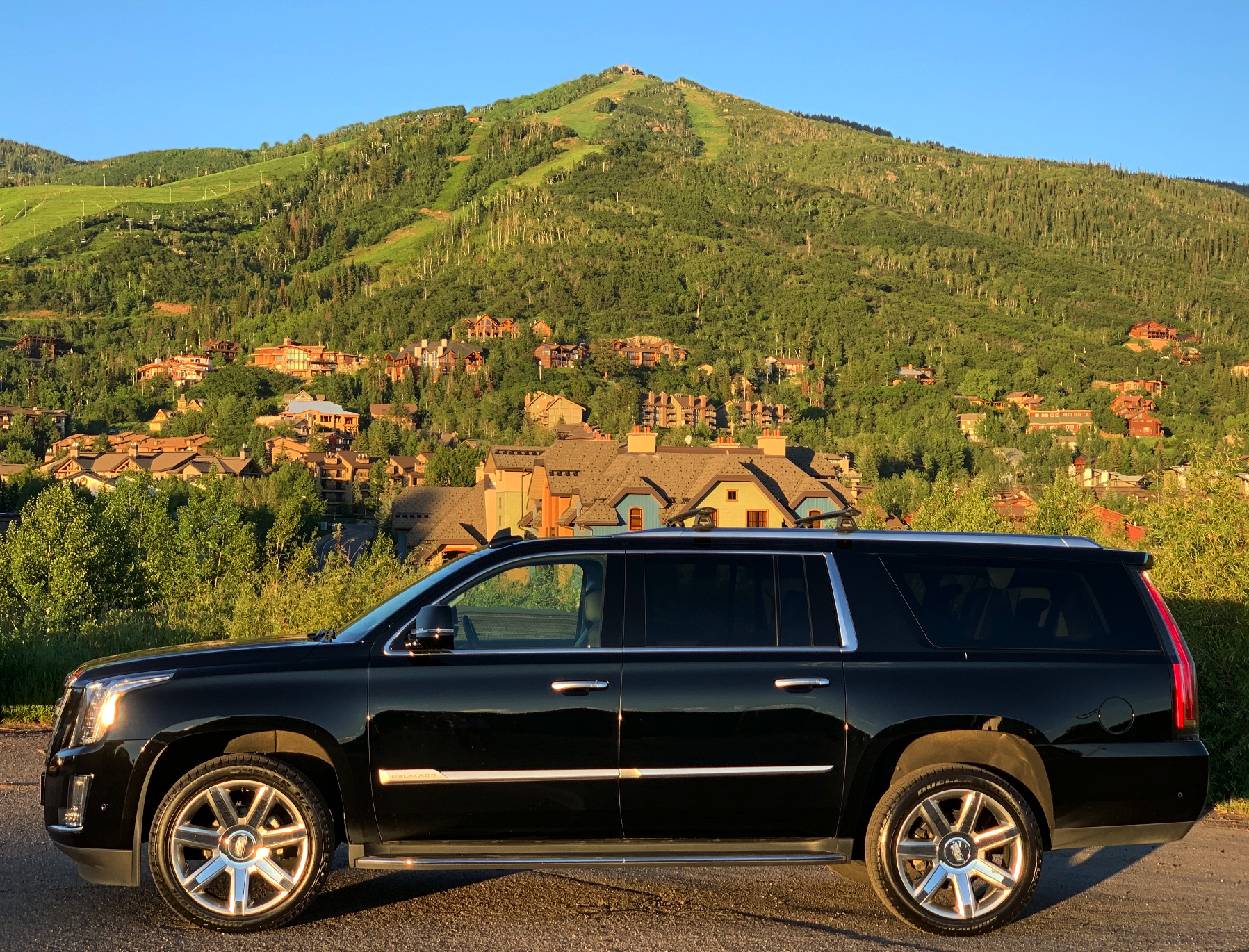 Cadillac Escalade Private Transportation Steamboat Springs