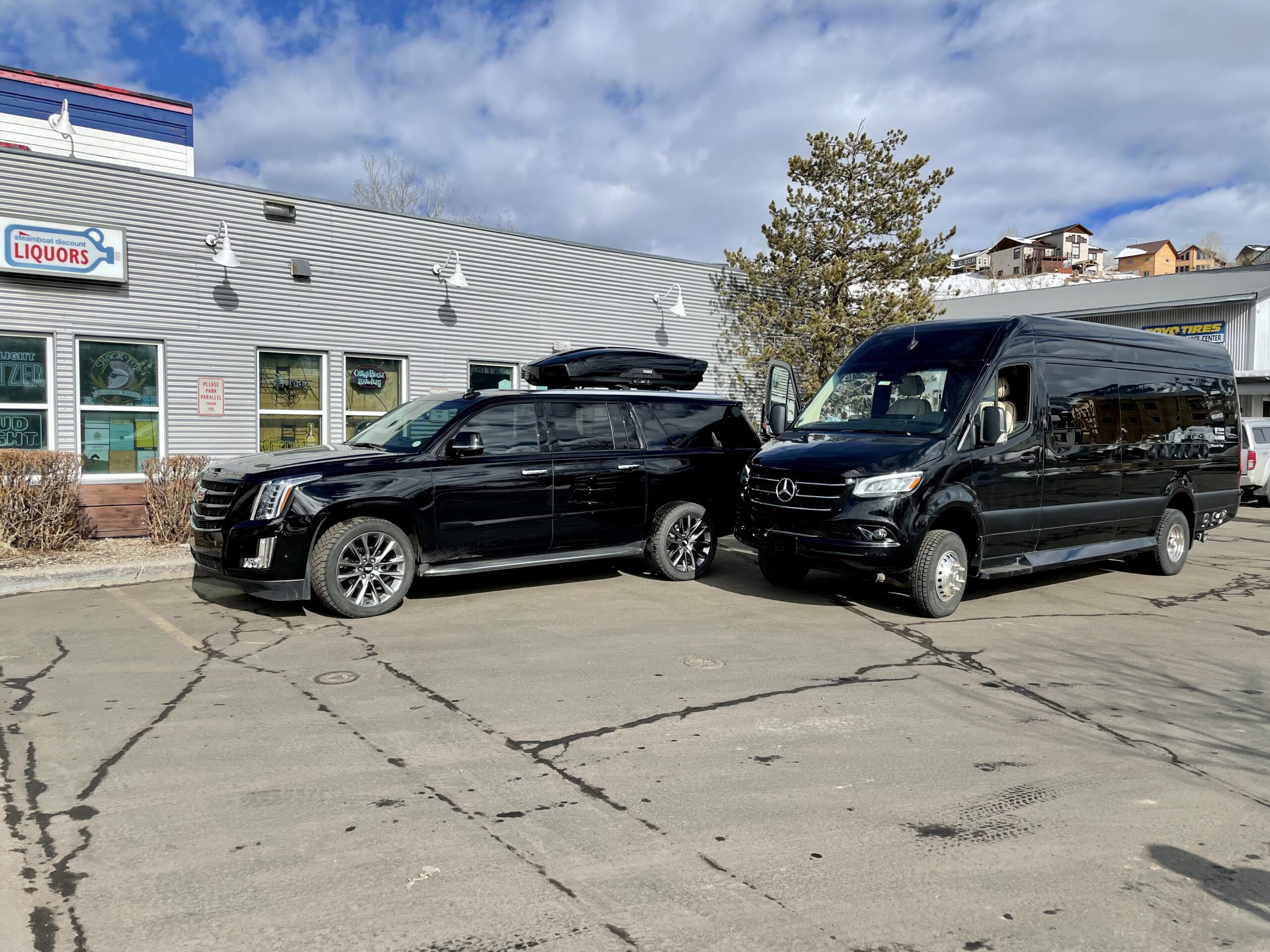 mercedes benz sprinter van steamboat springs
